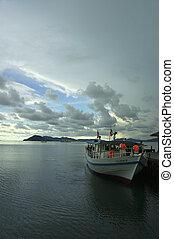 before the storm - taken at Gayana Island, Sabah Malaysia