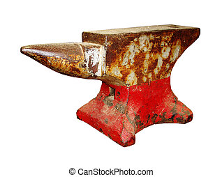 Shop Anvil - well used shop anvil