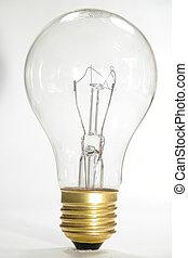 Light Bulb - Isolated Clear light Bulb