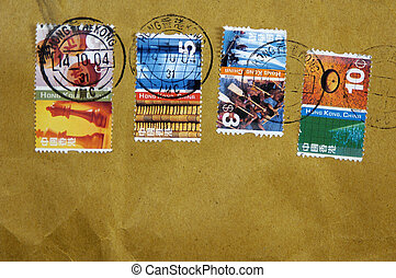 Hong Kong Postage - Photo of Postage From Hong Kong