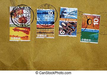 Hong Kong Postage - Photo of Postage From Hong Kong