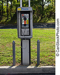 Pay Phone - Photo of a Pay Phone.