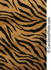 Tiger Fur Texture - A fur texture of tiger strips great...