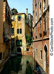 Venice - reflection in Venice canal