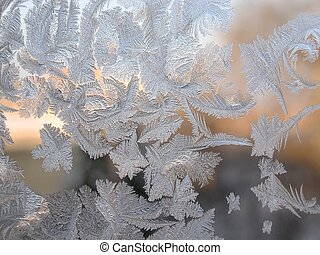 Jack Frost - Ice on window