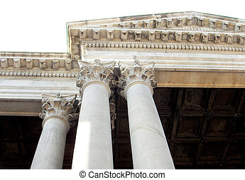 Corinthian Capital series of neo-classical architecture