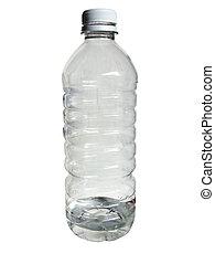 Water Bottle - empty bottle of water