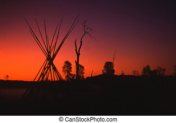 Manitoulin Sunset - Late September sunset on Manitoulin...