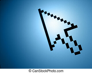 Pointer - Screenshot of mouse pointer