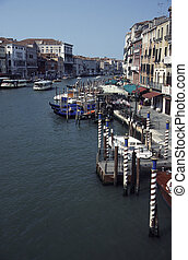 Venice - View of the Grand Canal in Venice