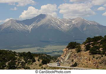 Mt. Princeton, in the collegiate range, is one of the famous...