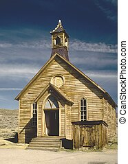 Bodie Church - Church in the ghost town of Bodie, California
