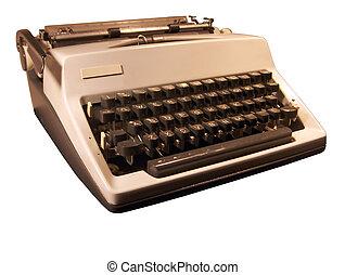 Retro Typewriter - Tinted retro typewriter