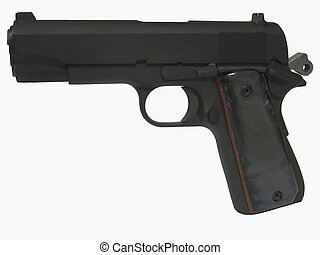Combat Commander3 - A 1911 semi-automatic pistol chosen by...