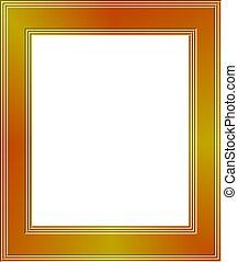 Gold Frame - Gold frame design.