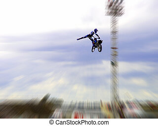 FMX - High flying Freestyle Motorcross
