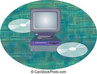 Computer and cds design