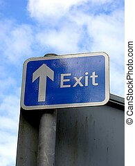 Exit Sign - Exit sign.