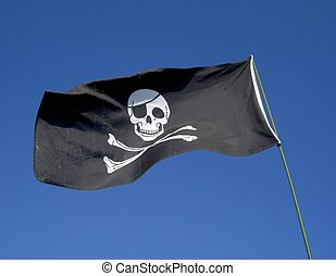 Pirate Flag - Skull and crossbones pirate flag