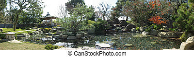 Japanese Garden Panoramic view