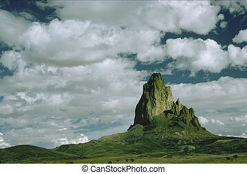 El Capitan - A rock spire in the distance