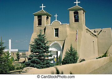 New Mexico church - A church in New Mexico