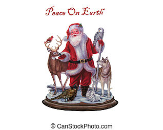 Peace On Earth - Freehand Drawing - Peace On Earth Christmas...