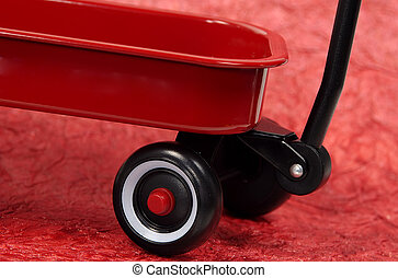 Red Wagon - Photo of a Red Wagon.