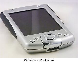 PDA over white - HP Ipaq pocket PC PDA over a white...