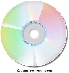 Cd Rom - Cd rom software disk.