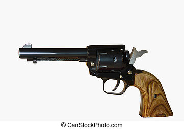 Single Action1 - A single action pistol using the same...