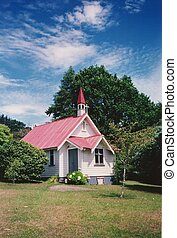 Old Church, NZ - Country church, built late 1800's in...