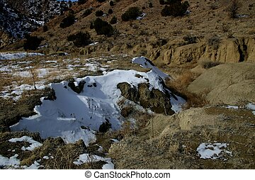 Arroyos, or dry washes, are gullies cut into the ground by...