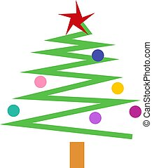 Christmas Tree - Simple Christmas tree design.