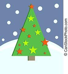 Christmas Tree - Christmas tree design.