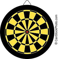 Dartboard design.