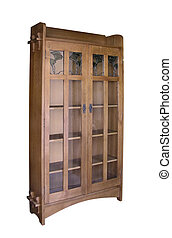 Stickley Bookcase - A 7 foot reproduction of an L LG...