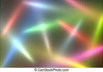 Lights Background - Coloured disco lights background design.