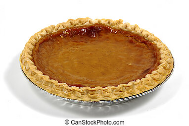 Pumpkin Pie - Photo of a Pumpkin Pie.