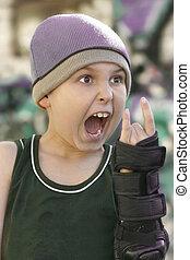 Wild Child - Wild child - expression and gesture