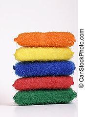 Scourer pads - Scrub scourer pads