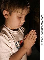 hora dormir, oração