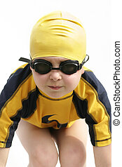 Swim - child in swimwear
