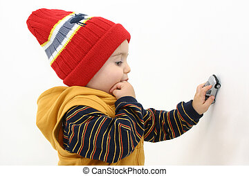 Boy w/Toy Car - <img...