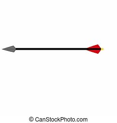 Black Arrow - The arrow, propelled by means of a bow, is one...