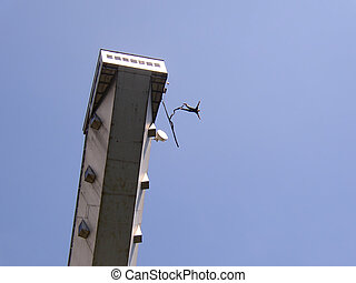 Bungee Jumping - Jumping Tower in Strbske Pleso, Slovakia