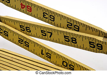 Open Ruler - Photo of a Open Stick Ruler