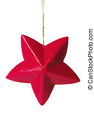 Red Star - Christmas tree decoration