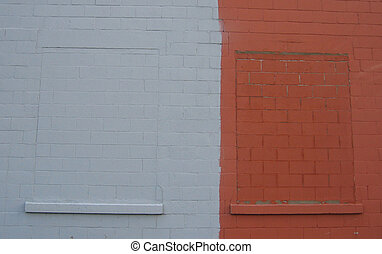 colored wall