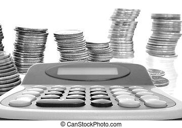 Calculator & Coins